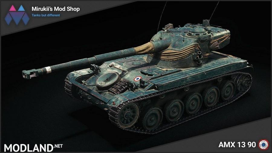 Mirukii's AMX 13 90 Remodel [1.5.1.0]